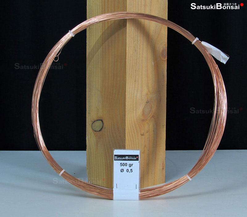 Filo di Alluminio Ramato per Bonsai da 3 mm peso 500 gr